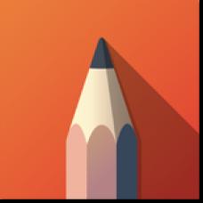 Autodesk SketchBook - For Enterprise 2019 Commercial New Single-user ELD Monthly Auto-Renew Subscription, подписка на 1 месяц